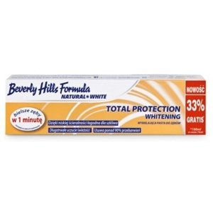 BEVERLY HILLS Natural White Total Protection 75ml + 25 ml
