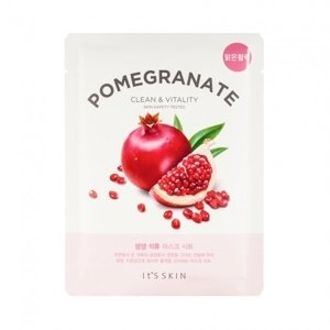 IT'S SKIN Fresh Mask Sheet Odmładzająca POMEGRANATE