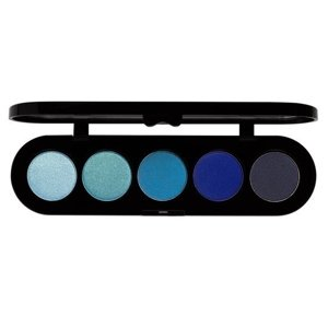 Make-up Atelier Paris Paleta 5 cieni do powiek T25 Satynowe 10g