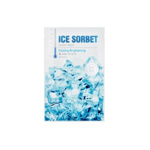 Missha Ice Sorbet Sheet Mask Maska do twarzy w płacie Cooling Brightening