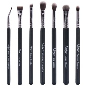 Nanshy Eye Brush Set Onyx Black Zestaw 7 pędzli do oczu