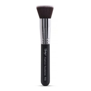 Nanshy Flat Top Brush - Flawless Foundation Black F02 Pędzel do podkładu
