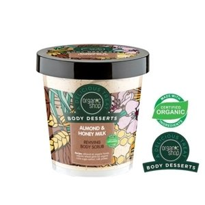 Organic Shop Body Desserts Odżywczy scrub do ciała Almond&Honey Milk BD21