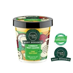 Organic Shop Body Desserts Tonizująca piana do kąpieli Caribbean Fruit Cocktail BD25