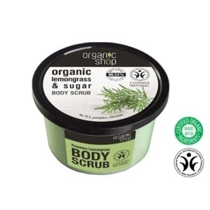 Organic Shop Scrub do ciała Lemongrass&Sugar OS59