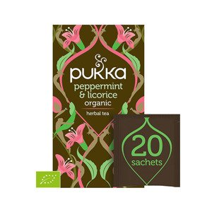 Pukka Herbata Peppermint & Licorice