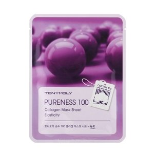 Tony Moly Pureness 100 Sheet Mask Elasticity Maska w płacie COLLAGEN