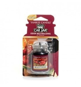 Yankee Candle Car Jar Ultimate Zapach do samochodu  Black Cherry