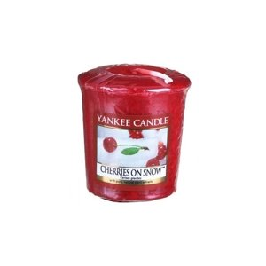 Yankee Candle świeca SAMPLER Cherries On Snow