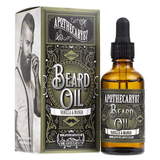 Apothecary 87 Vanilla&Mango Recipe Beard Oil Olejek do brody 50ml