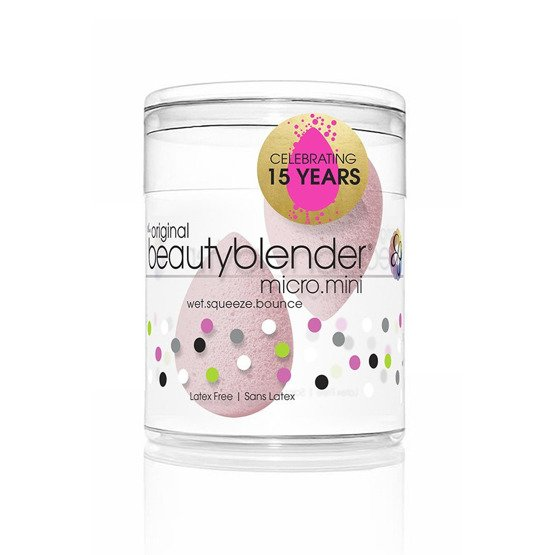 BeautyBlender DUO PACK MICRO.MINI BUBBLE 2 mini gąbeczki do makijażu
