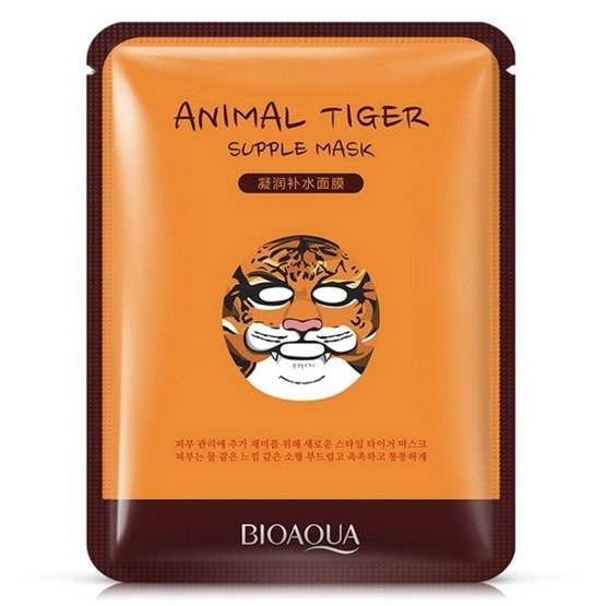 Bioaqua Animal Mask Maska w płacie TIGER