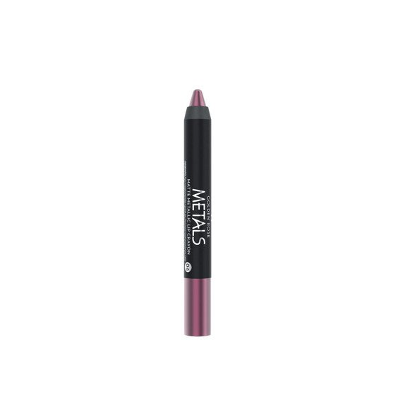 Golden Rose Metals Matte Metallic Lip Crayon Metaliczna, matowa pomadka w kredce 06
