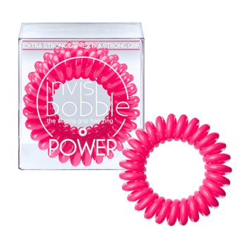 Invisibobble Gumki do włosów POWER - PINKING OF YOU 3 sztuki