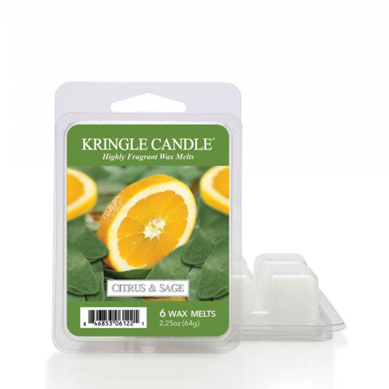 Kringle Candle Wosk zapachowy 6PACK Citrus and Sage
