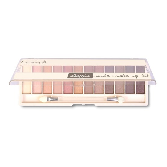 Lovely Nude Make Up Kit Paleta 12 cieni Classic