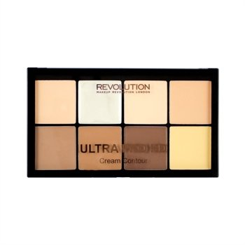 Makeup Revolution HD Pro Cream Contour KREMOWA paleta do konturowania FAIR