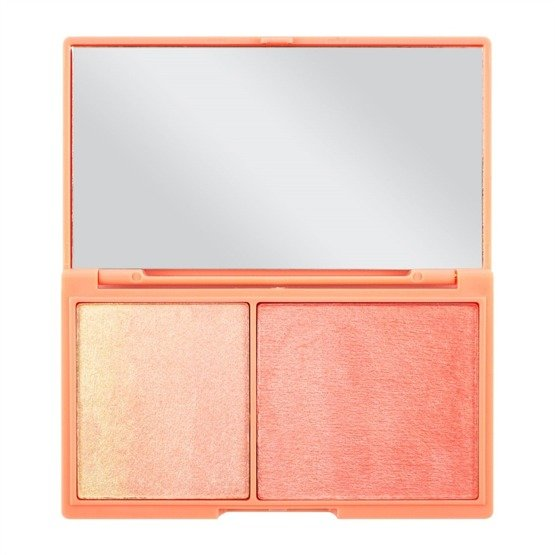 Makeup Revolution Mini paleta rozświetlaczy Peach and Glow Mini Chocolate