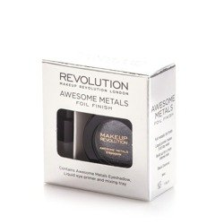 Makeup Revolution REVOLUTION Cień foliowy + baza Eye Foils BLACK DIAMOND