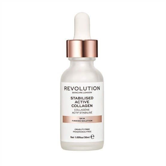 Revolution Skincare Skin Firming Solution - Stabilised Active Collagen Ujędrniające serum do twarzy 30ml