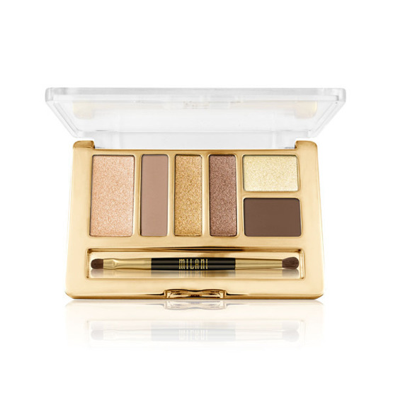 Milani EVERYDAY EYES POWDER EYESHADOW COLLECTION Paleta 6 cieni 02 Bare Necessities