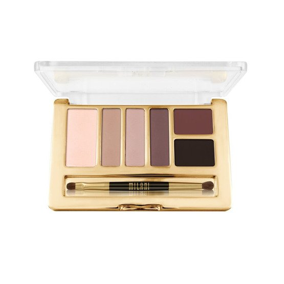 Milani EVERYDAY EYES POWDER EYESHADOW COLLECTION Paleta 6 cieni 10 Romantic Mattes