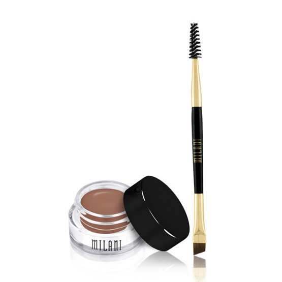 Milani STAY PUT BROW COLOR Pomada do brwi 01 Soft Brown