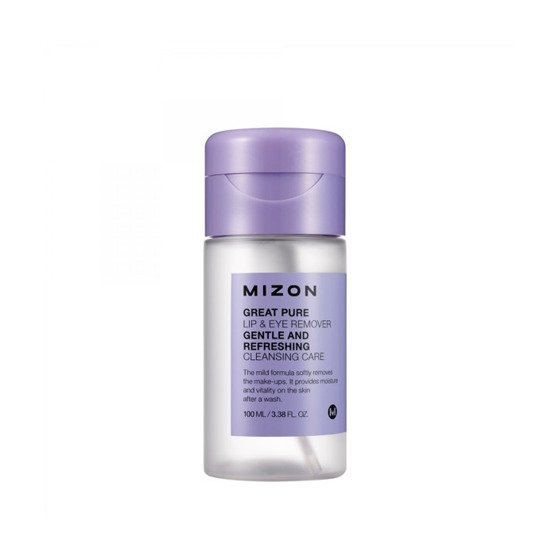 Mizon Great Pure Lip&Eye Remover Płyn do demakijażu oczu i ust 100 ml