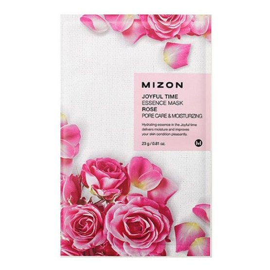 Mizon Joyful Time Essence Mask Maska w płacie RÓŻA