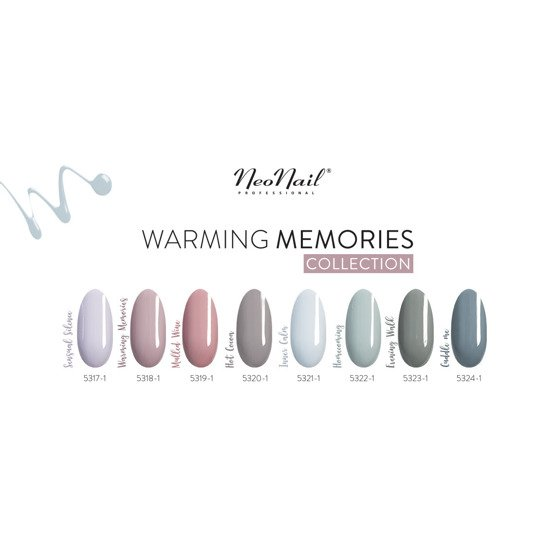 NeoNail Warming Memories Lakier hybrydowy Evening Walk 6 ml