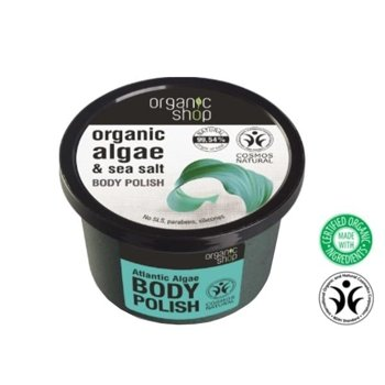 Organic Shop Peeling do ciała Algae&Sea Salt OS55