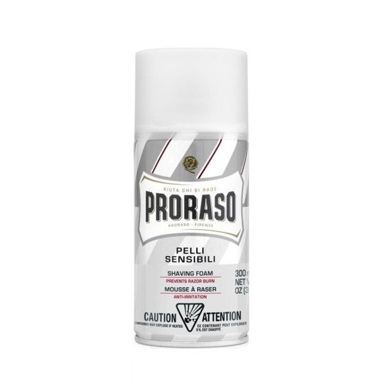 Proraso Shaving Foam Pianka do golenia WHITE 300ml