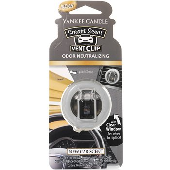 Yankee Candle CAR Vent Clip Zapach do samochodu New Car Scent
