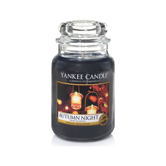 Yankee Candle ŚWIECA W SŁOIKU DUŻA Autumn Night