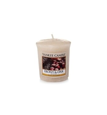 Yankee Candle świeca SAMPLER Ebony&Oak