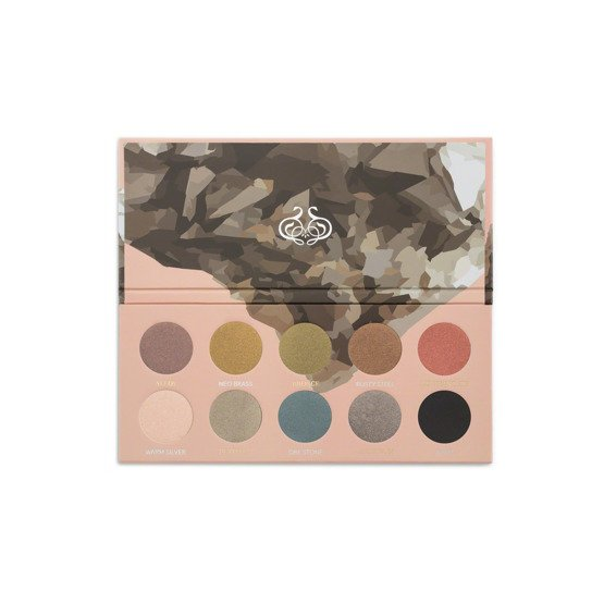 ZOEVA Mixed Metals Palette Paleta 10 cieni do oczu