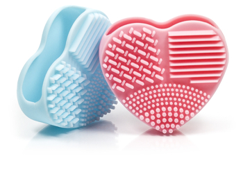 BLEND IT Brush Cleaning Heart Light Pink