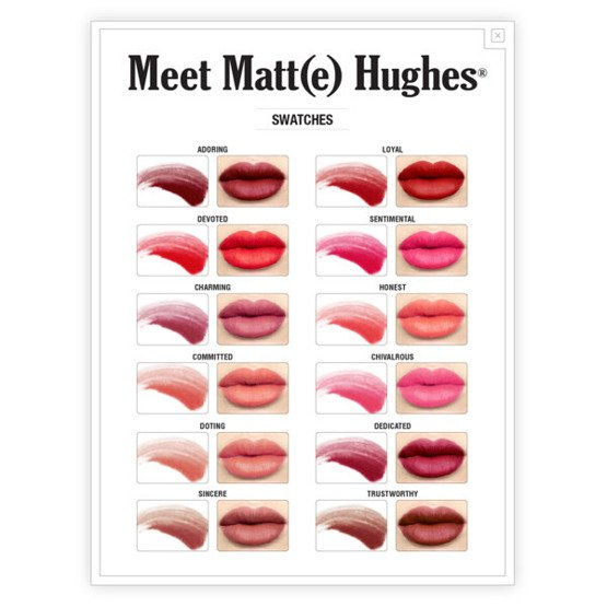 theBalm Meet Matt(e) Hughes Matowa szminka do ust Sincere